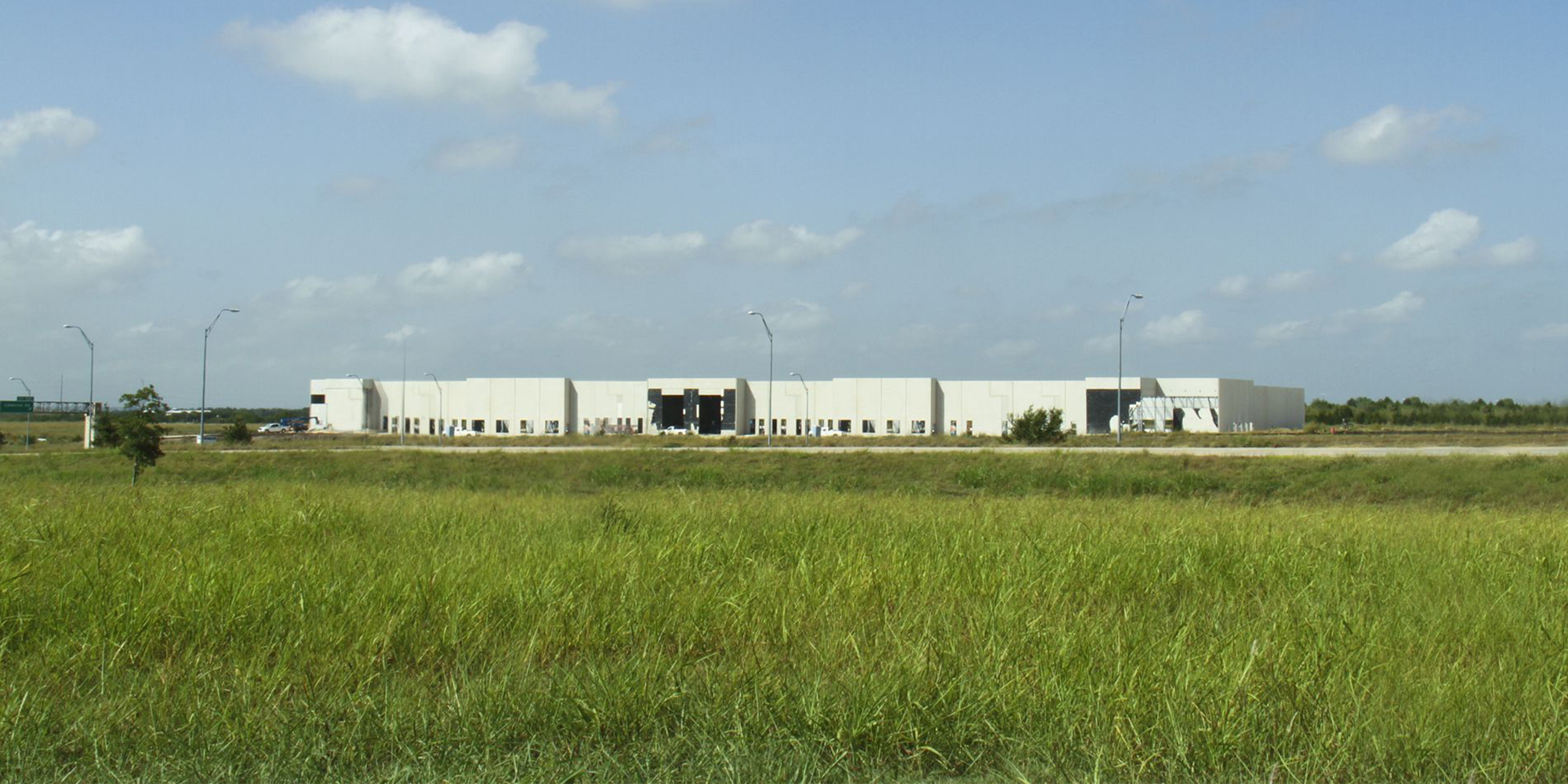 distribution center exterior
